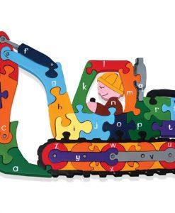 Alphabet Digger Jigsaw