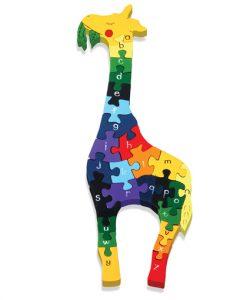 Alphabet Giraffe Jigsaw