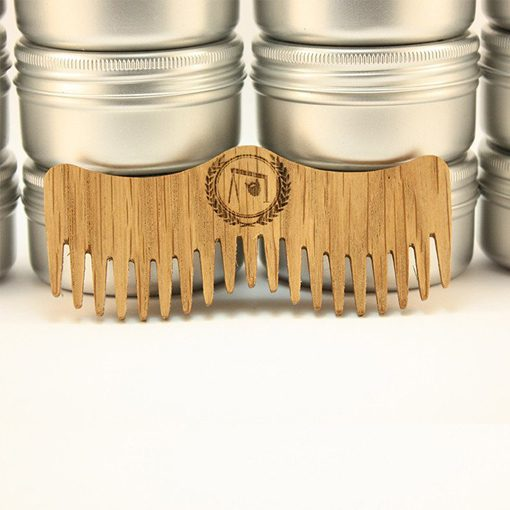 Mo Shaped Beard Comb