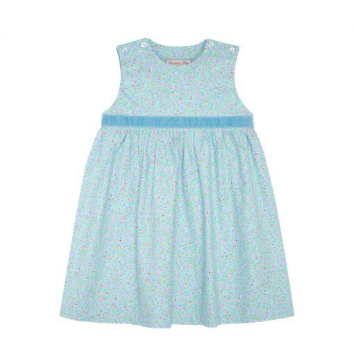 Blue Floral Caoimhe Dress