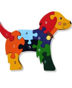 Number Dog Jigsaw