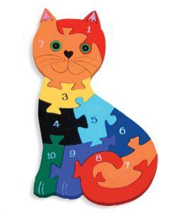 Number Cat Jigsaw