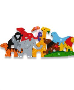 Number Zoo Jigsaw