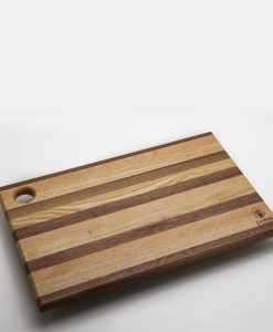 Large Striped Chopping Board