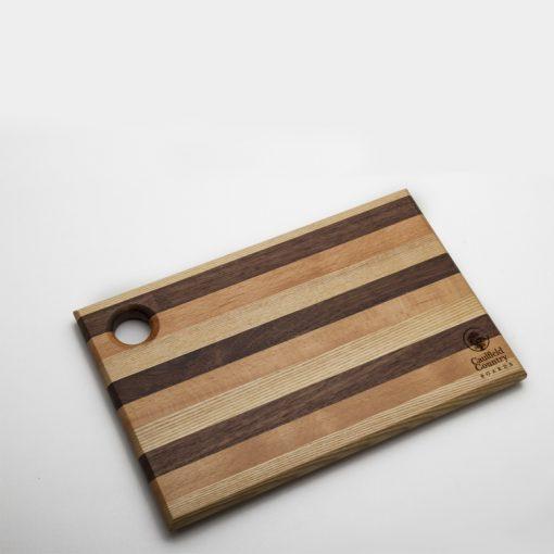 Small Striped Chopping Board