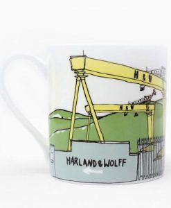 Belfast Cranes Mug