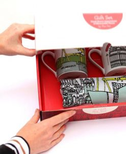 Mug and Tea Towel Gift Box