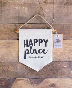 Happy Place Wall Banner