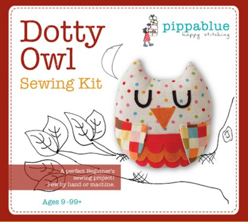 Dotty Owl Sewing Kit