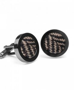 Monotint Donegal Tweed Cufflinks