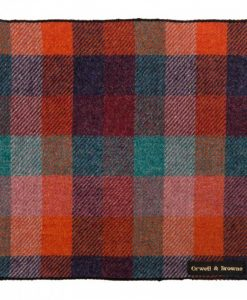 Harlequin Donegal Tweed Pocket Square
