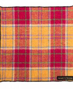 Middling Spring Donegal Tweed Pocket Square