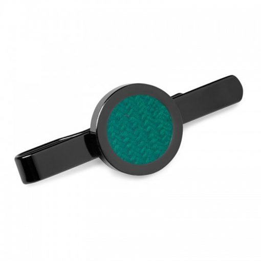 Forest Green Donegal Tweed Tie Clip