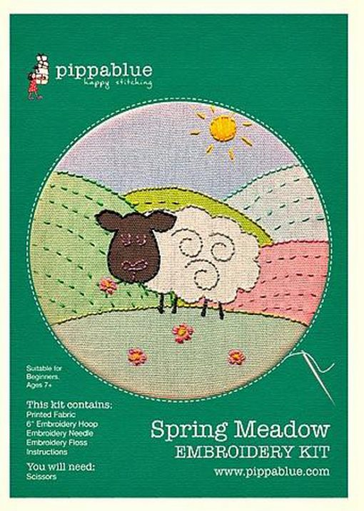 Spring Meadow Embroidery Kit