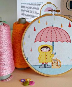 Rainy Day Embroidery Kit