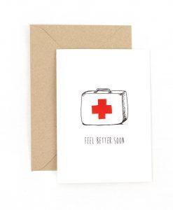 Feel Better Soon Greetings Card