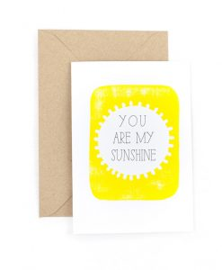Sunshine Greetings Card