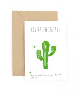 Your're Engaged Greetings Card