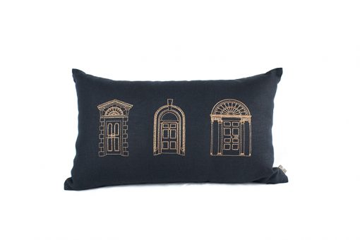 Georgian Doors Irish Linen Cushion