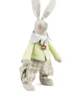 Senan the Irish Hare Heirloom Soft Toy