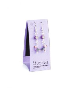 Little Purple Bird Earrings