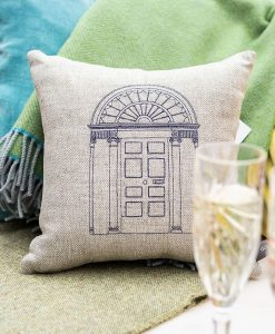 Georgian Door Irish Linen Cushion