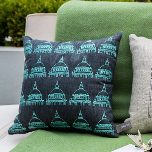 Belfast City Hall Irish Linen Cushion