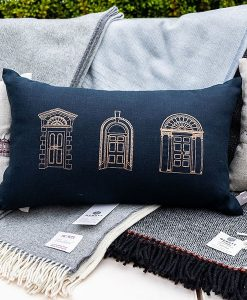 Georgian Doors Irish Linen Cushion