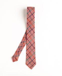 Checkered Clove Irish Tweed Tie