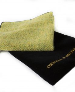 Limetree Donegal Tweed Pocket Square