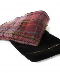 Spring Foliage Donegal Tweed Pocket Square