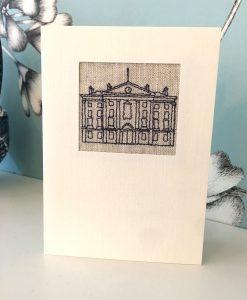 Trinity College Irish Linen Greetings Card